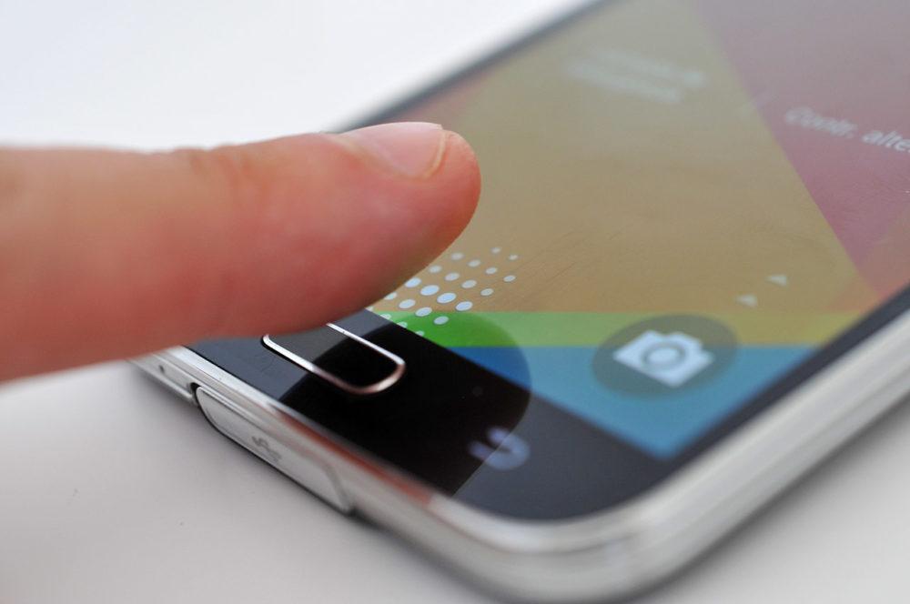 Samsung Galaxy S5 - Lector huella dactilar