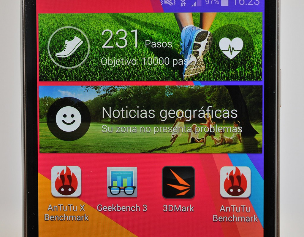Samsung Galaxy S5 - Pantalla