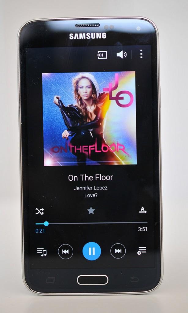 Samsung Galaxy S5 - Reproductor musica