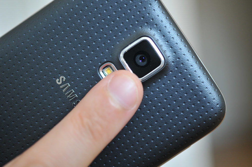 Samsung Galaxy S5 - Sensor ritmo cardíaco