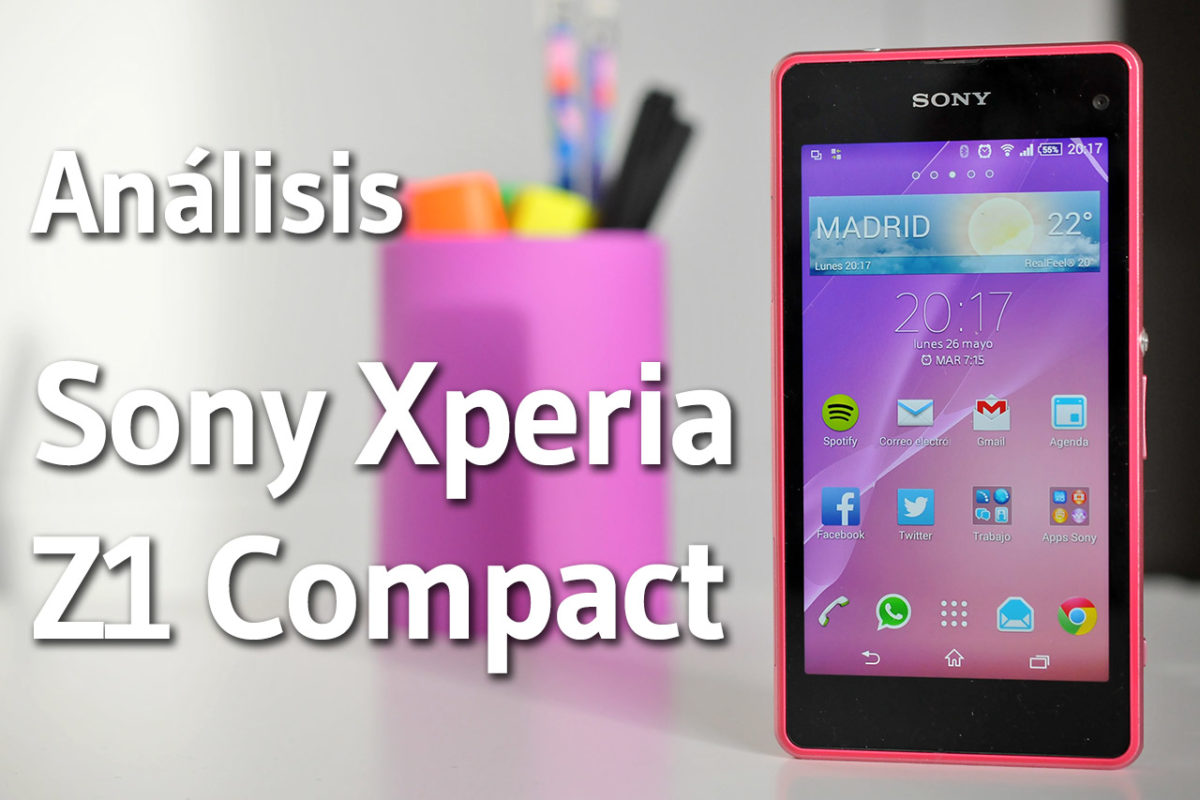 Sony Xperia Z1 Compact - Análisis