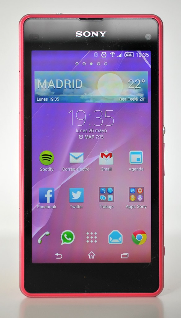 Sony Xperia Z1 Compact - Frontal