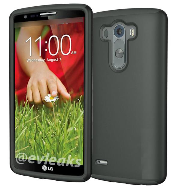 LG G3 en funda