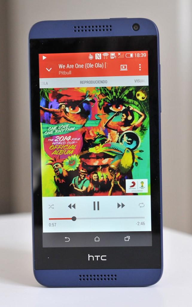 HTC Desire 610 - Musica