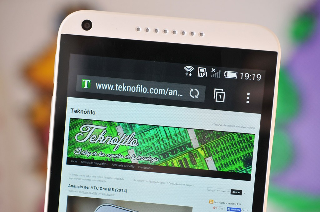 HTC Desire 816 - Pantalla