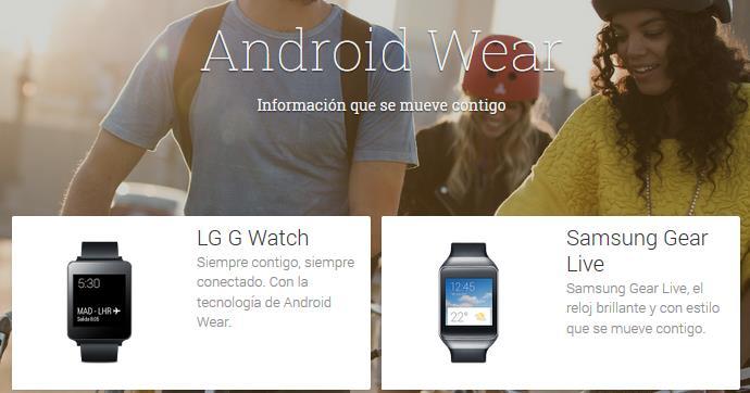 LG G Watch vs Samsung Gear Live
