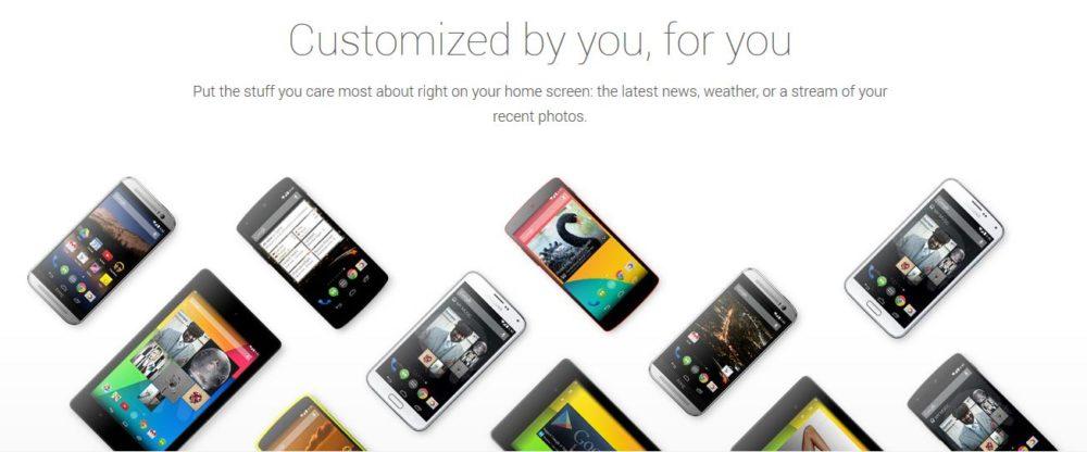 Teléfonos Google Play Edition