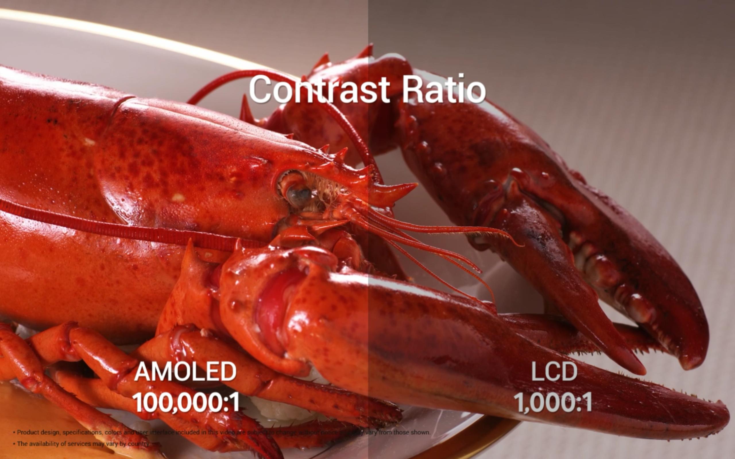 Pantallas AMOLED vs LCD