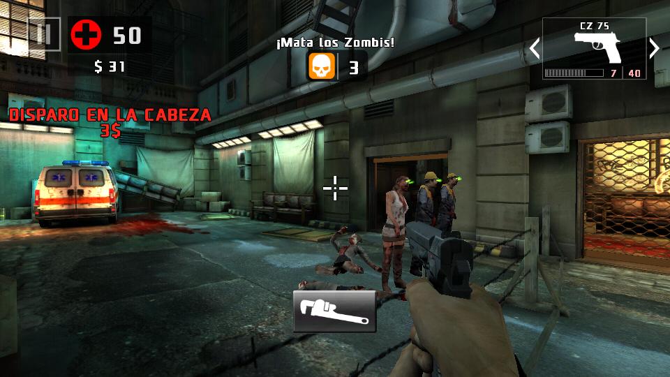 Dead Trigger 2 en Moto E