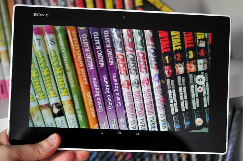 Sony Xperia Z2 Tablet - Camara