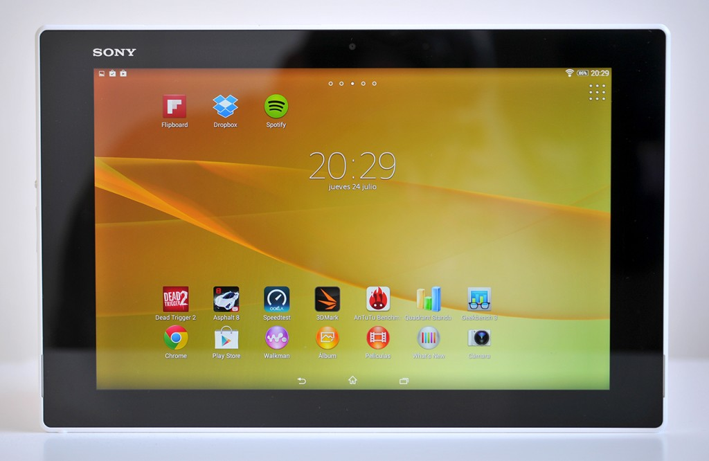 Sony Xperia Z2 Tablet - Frontal