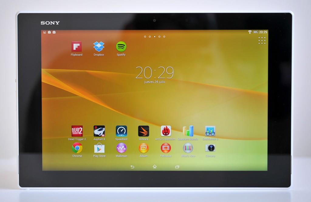 Sony Xperia Z2 Tablet - Frontal