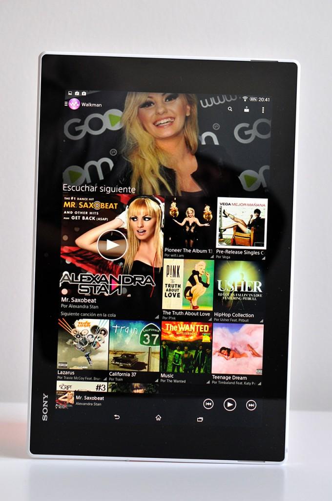 Sony Xperia Z2 Tablet - Musica