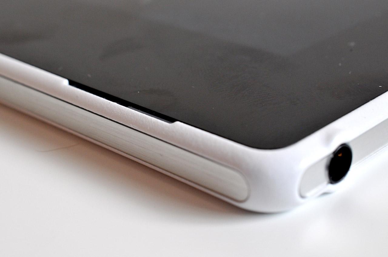 Sony Xperia Z2 Tablet - altavoz