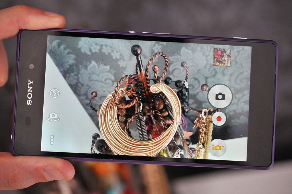 Sony Xperia Z2 - camara
