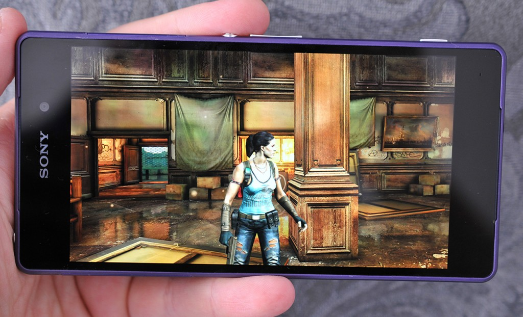 Sony Xperia Z2 - juego