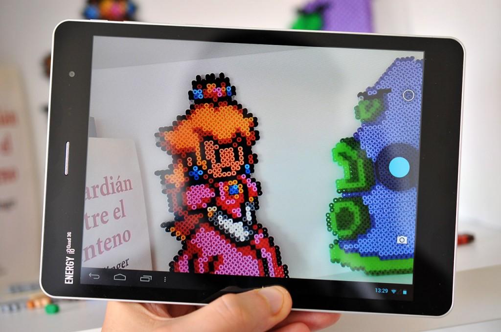Tablet Energy Sistem Energy i8 Quad 3G Quad 3G - Camara