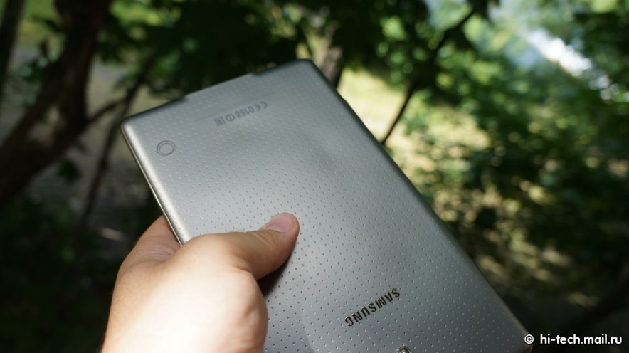Sobrecalentamiento del Galaxy Tab S