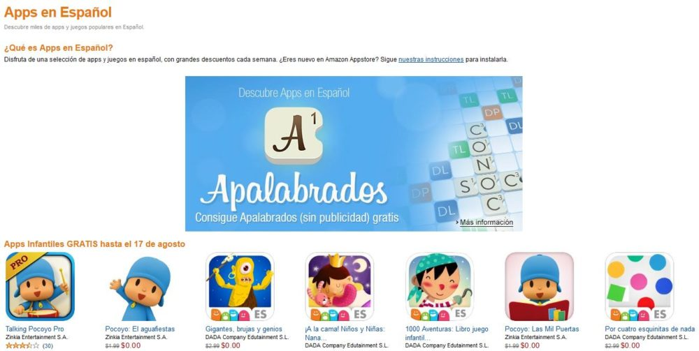 Apps en español