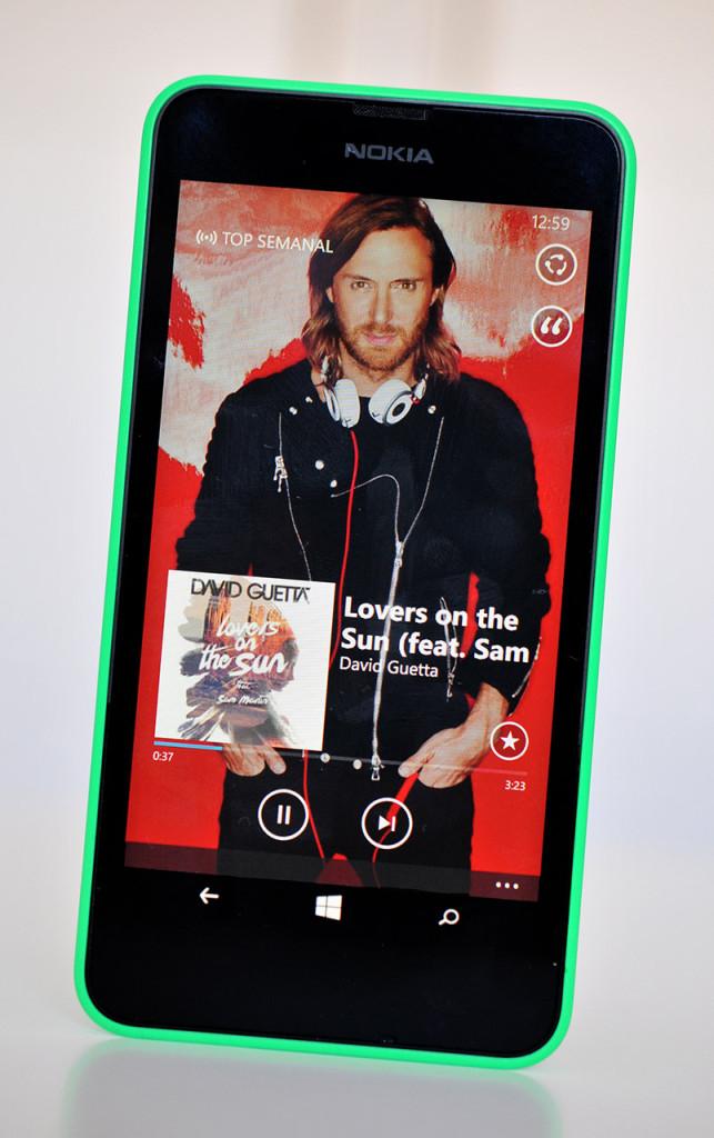 Nokia Lumia 630 - Musica