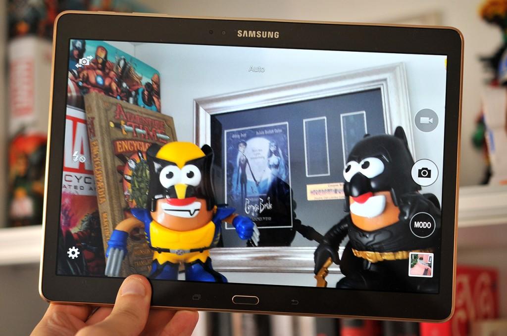 Samsung Galaxy Tab S - Camara