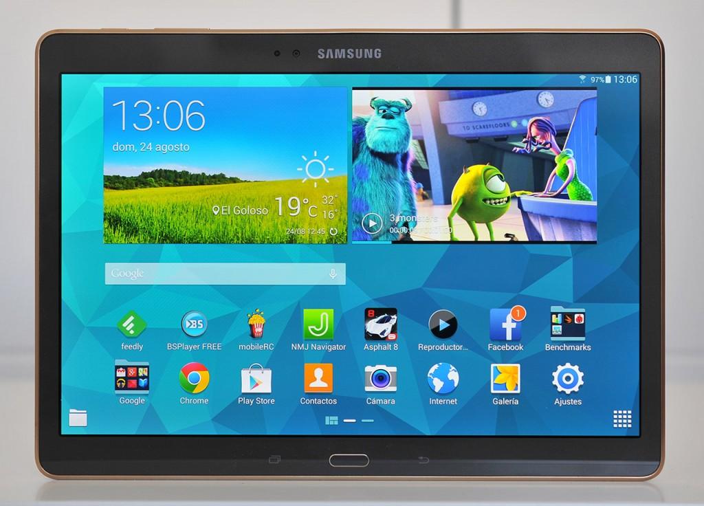 Samsung Galaxy Tab S - Frontal