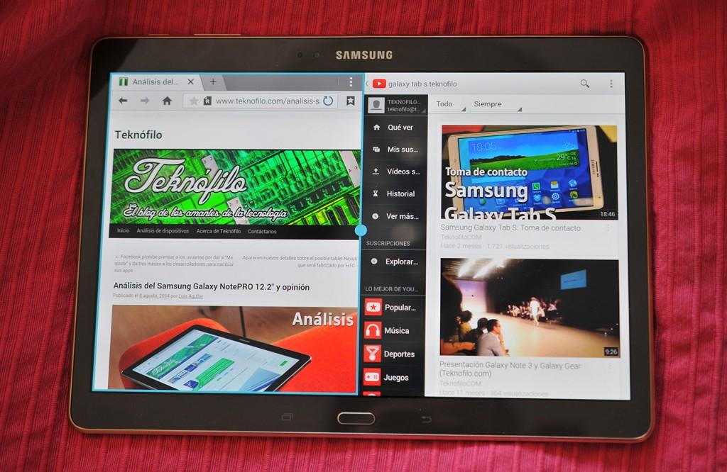 Samsung Galaxy Tab S - Multi ventana