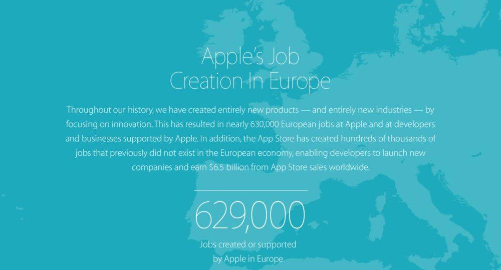 Apple en Europa