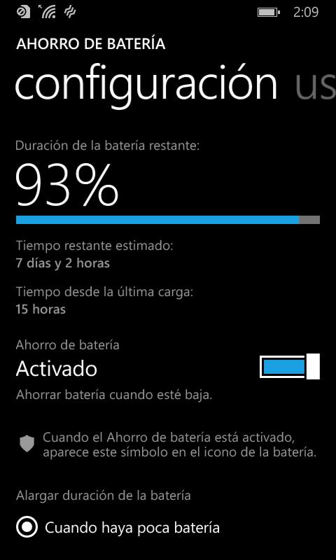 Nokia Lumia 630 - Batería