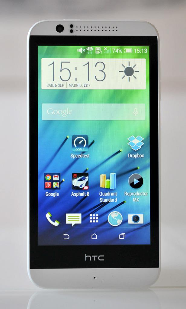 HTC Desire 510 - Delante