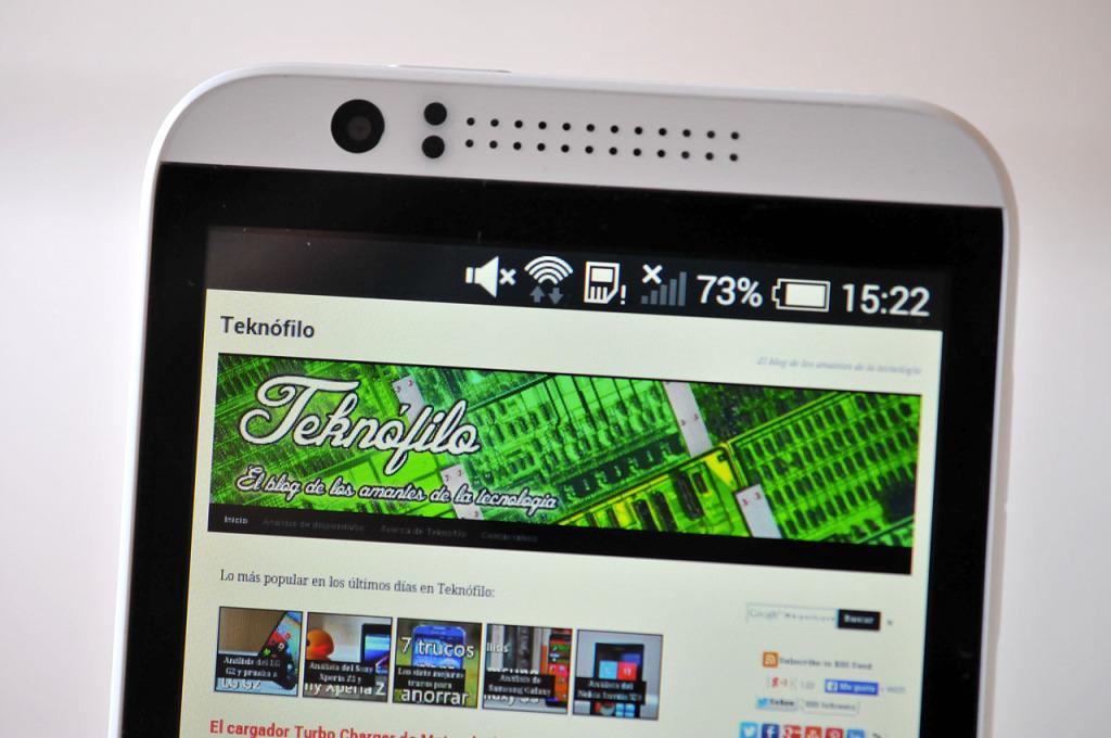 HTC Desire 510 - pantalla