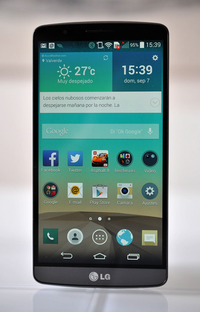 LG G3 - Frontal