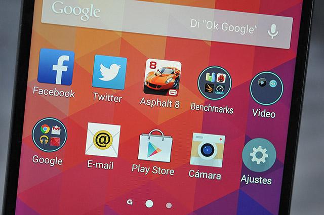 LG G3 - Pantalla 640