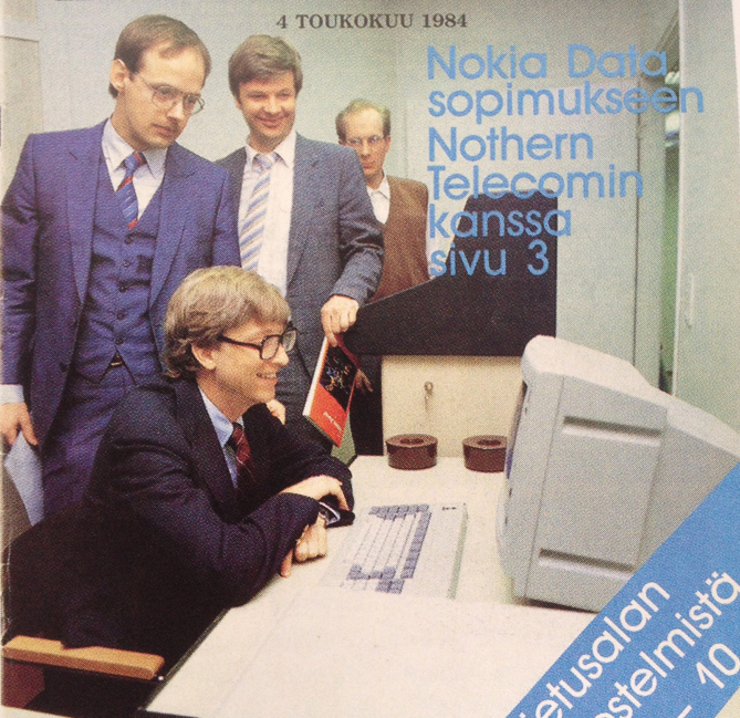 bill gates nokia