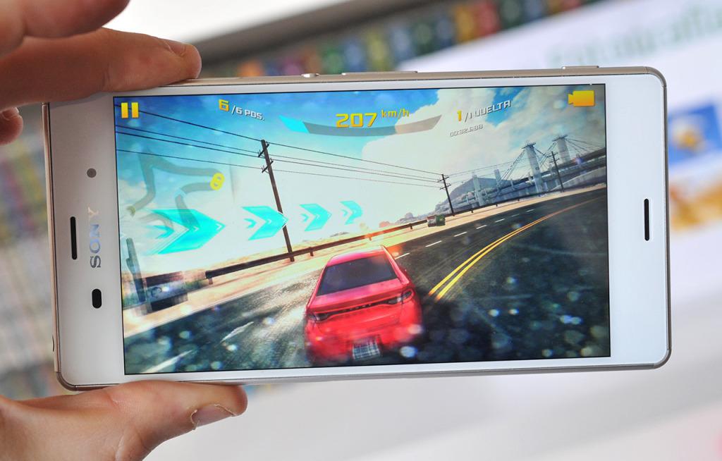Sony Xperia Z3 - Asphalt