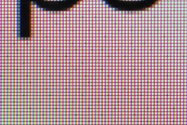 Matriz de sub-píxeles del iPhone 6 Plus