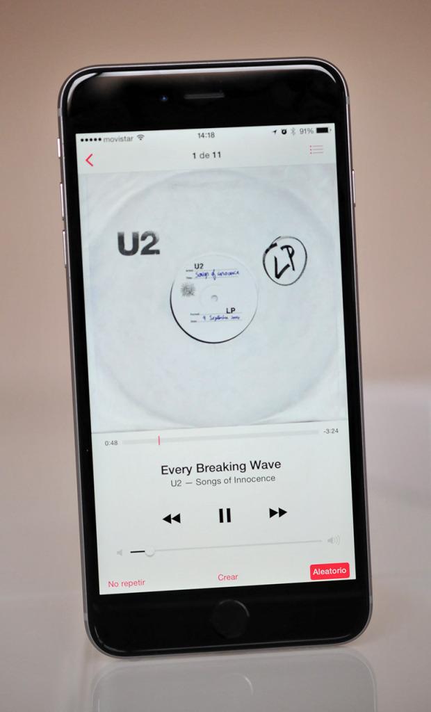 iPhone 6 Plus - Musica