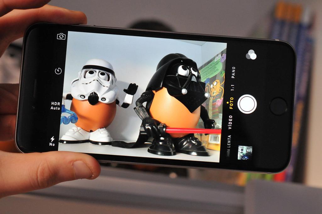 iPhone 6 Plus - camara
