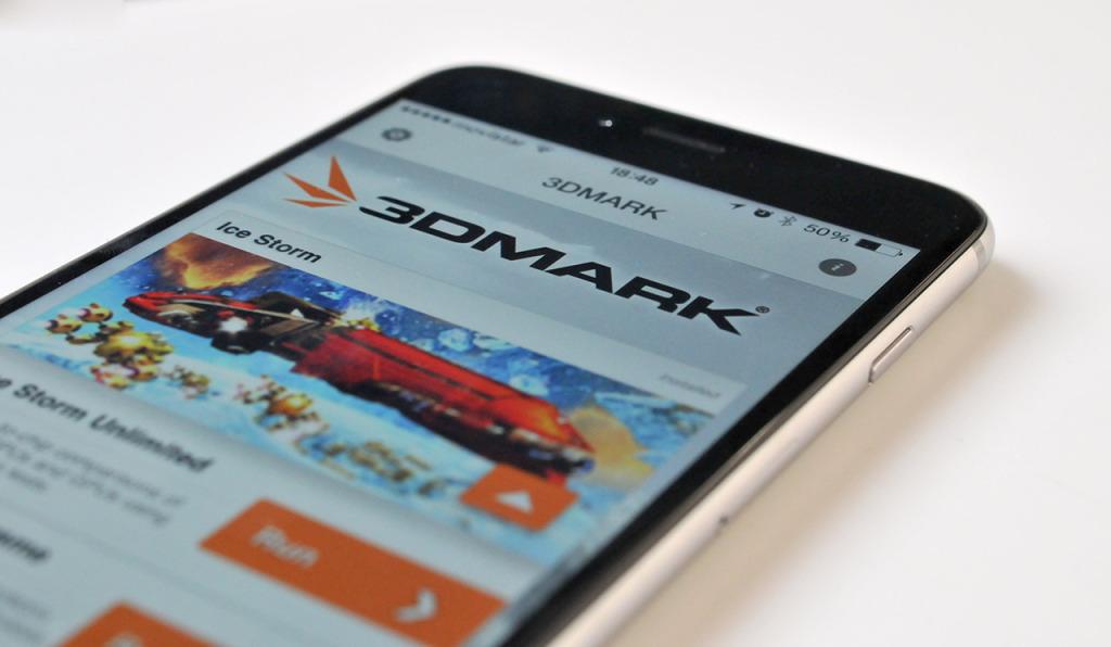 iPhone 6 Plus - test 3dmark