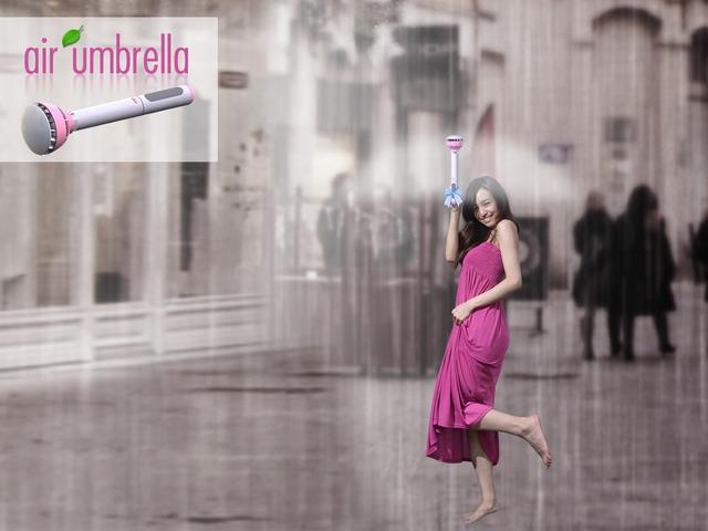 Paraguas de aire
