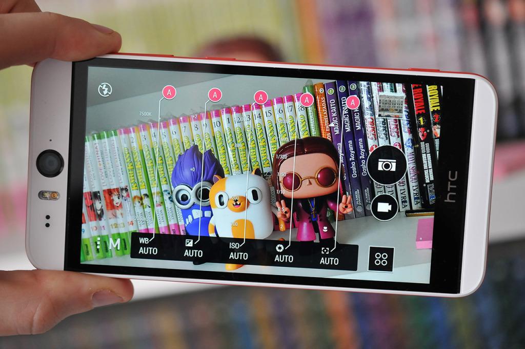 HTC Desire Eye - camara