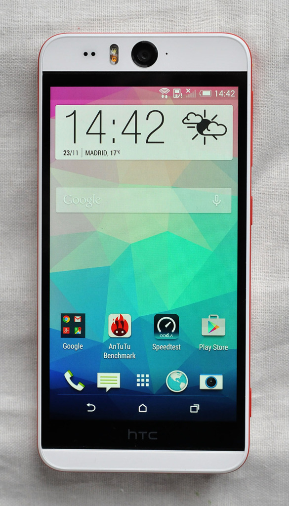 HTC Desire Eye - frontal