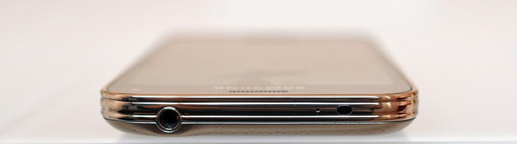 Samsung Galaxy S5 mini - arriba