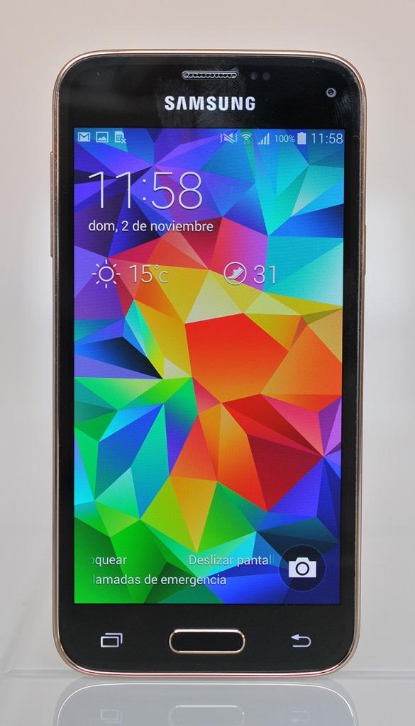 Samsung Galaxy S5 mini - frontal