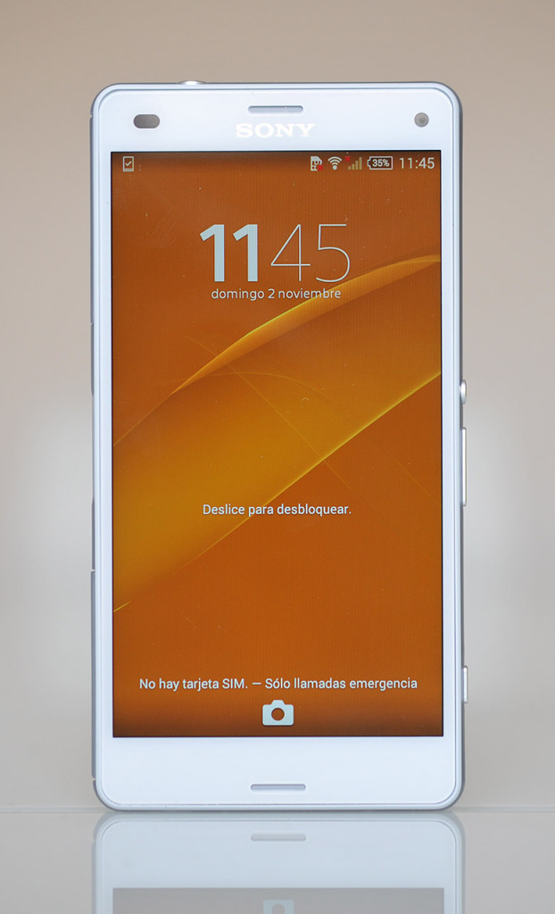 Sony Xperia Z3 Compact - Frontal