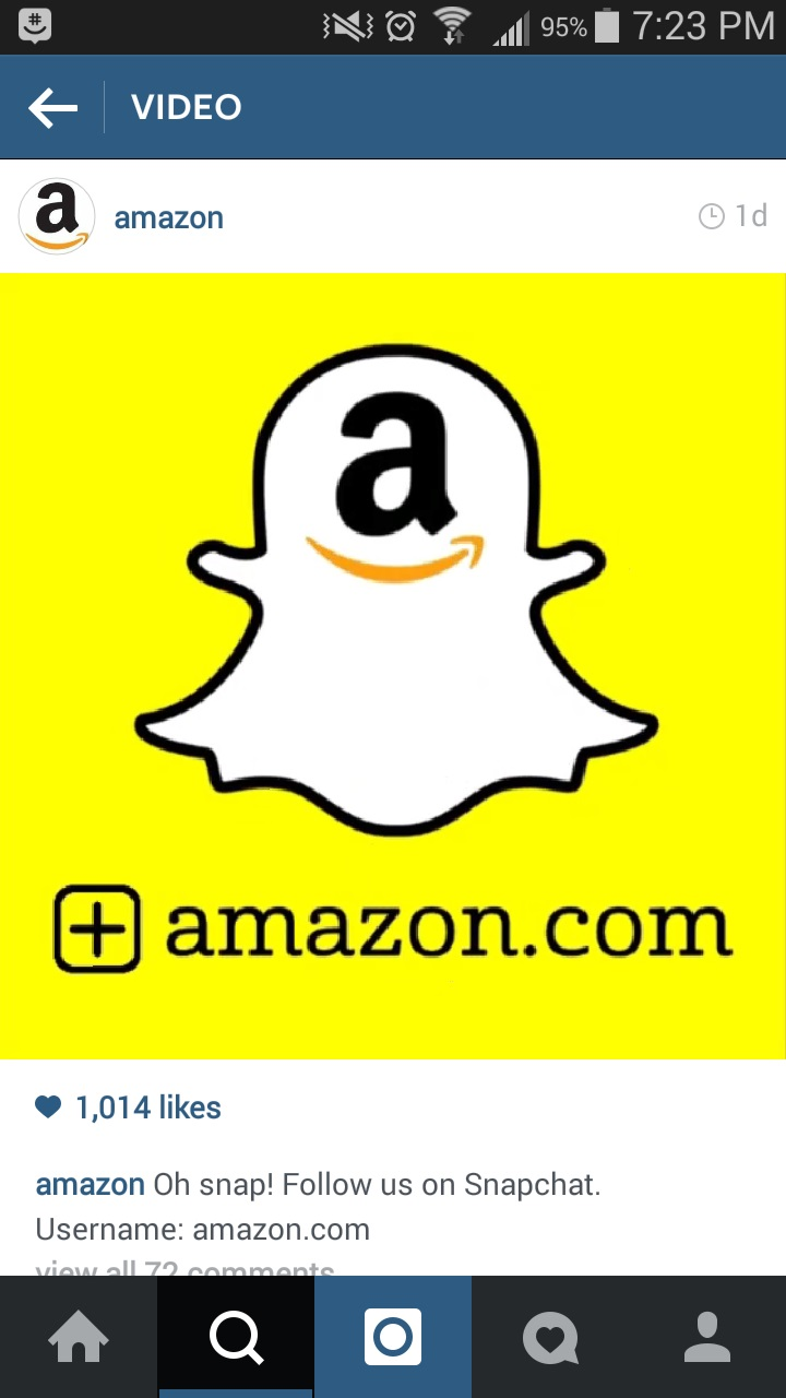 Amazon Snapchat