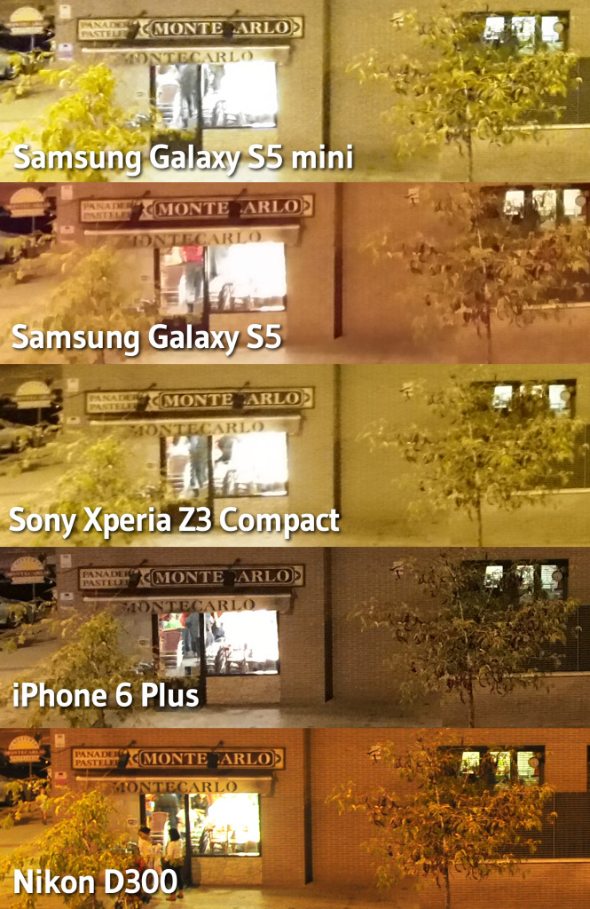 comparativas fotos noche