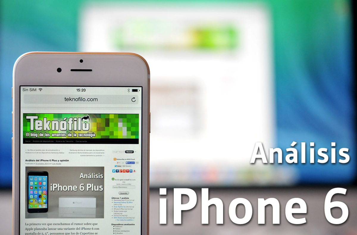 iPhone 6 - Analisis