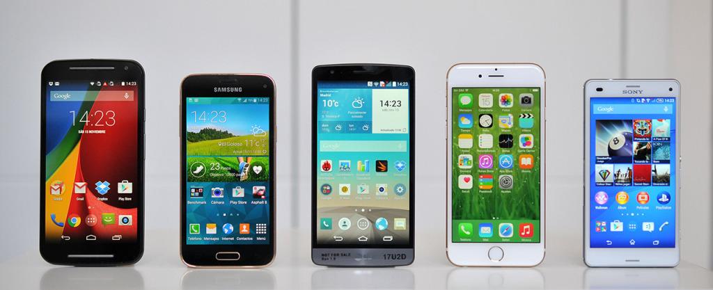 iPhone 6 - Comparativa otros telefonos