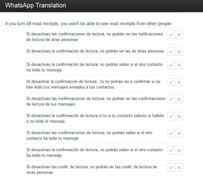 whatsapp traduccion
